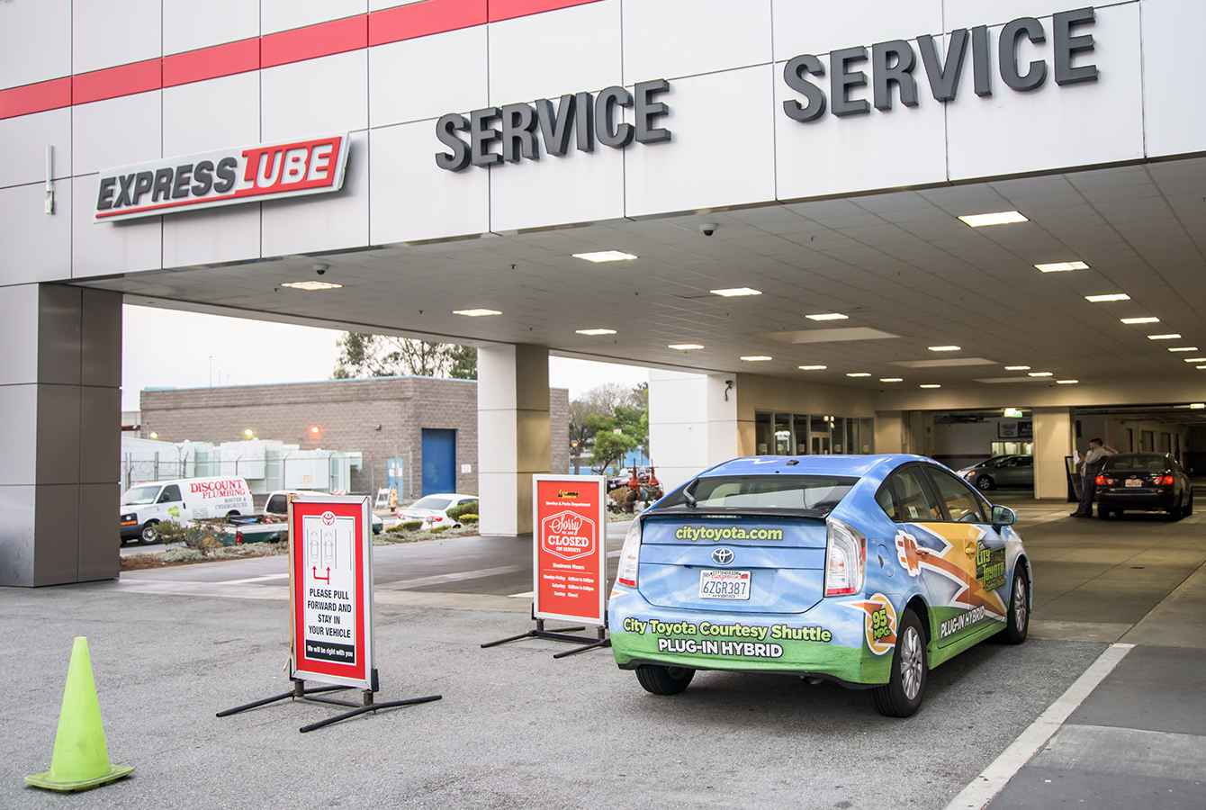 Good Convenient Toyota Service