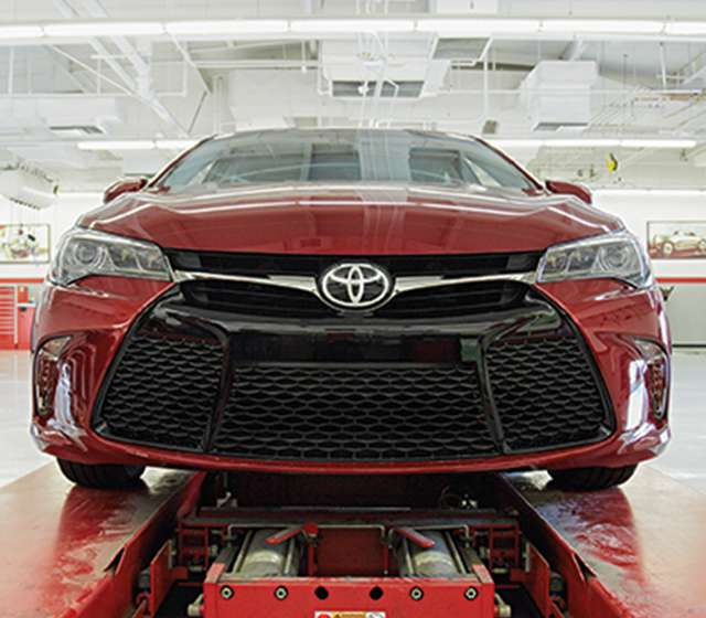 Toyota Warranty Work